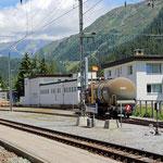 Schweizer-Eisenbahnen Davos Dorf