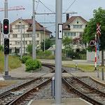 Schweizer-Eisenbahnen Bahnhof Speicher