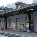 Schweizer-Eisenbahnen - Bahnhof Göschenen