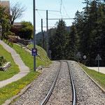 Schweizer-Eisenbahnen - Bahnhof Les Pralies