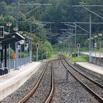 Schweizer-Eisenbahnen - Bahnhof Capella Agnuzzo