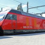 Schweizer-Eisenbahnen - Re 460 / 015