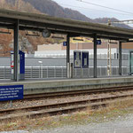 Schweizer-Eisenbahnen - Bahnhof Schwanden