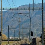 Schweizer-Eisenbahnen - Bahnhof San Antonino