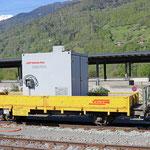 Schweizer-Eisenbahnen RhB Güterwagen Xk - 9362
