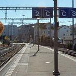 Schweizer-Eisenbahnen - Bahnhof Hinwil