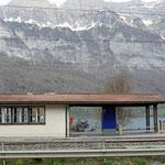 Schweizer-Eisenbahnen Bahnhof Mols