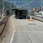Schweizer- Eisenbahnen Bahnhof Schiers