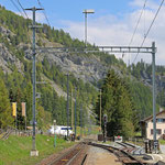 Schweizer-Eisenbahnen - Bahnhof La Punt Chamues-ch