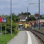 Schweizer-Eisenbahnen Bahnhof Langwiesen