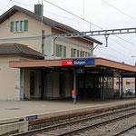 Schweizer-Eisenbahnen Bahnhof Sulgen