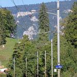 Schweizer-Eisenbahnen - Bahnhof Crémines-Zoo