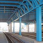 Schweizer-Eisenbahnen - Bahnhof Hitzkirch