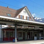 Schweizer-Eisenbahnen Bahnhof Nesslau-Neu St. Johann