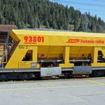 Schweizer-Eisenbahnen RhB Güterwagen Xac-t - 93801