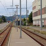 Schweizer-Eisenbahnen Bahnhof Hitzkirch