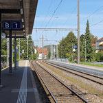 Schweizer-Eisenbahnen Bahnhof Seuzach