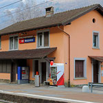 Schweizer-Eisenbahnen - Bahnhof Mezzovico