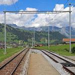 Schweizer-Eisenbahnen - Bahnhof Blankenburg