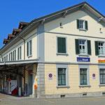 Schweizer-Eisenbahnen - Bahnhof Bischofszell Stadt