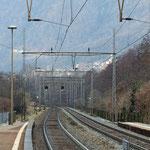 Schweizer-Eisenbahnen Bahnhof Mezzovico