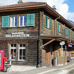 Schweizer-Eisenbahnen - Bahnhof Haldenstein