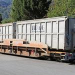 Schweizer-Eisenbahnen RhB Güterwagen Sl - 7768
