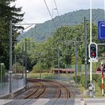 Schweizer-Eisenbahnen Bahnhof Magliaso