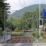 Schweizer-Eisenbahnen - Bahnhof Magliaso