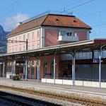 Schweizer-Eisenbahnen - Bahnhof Brunnen