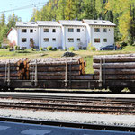 Schweizer-Eisenbahnen RhB Güterwagen Sp-w - 8274