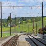 Schweizer-Eisenbahnen Bahnhof Weissbad