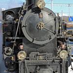Schweizer-Eisenbahnen Dampffahrt Zweisimmen - Montreux