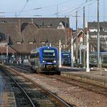 September 2017: Bahnhof von Deauville in der Normandie (Aufnahme vom November 2010).