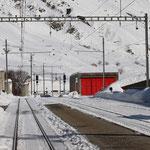 Schweizer-Eisenbahnen - Bahnhof Realp