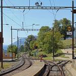 Schweizer-Eisenbahnen Bahnhof Langendorf