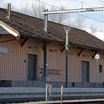Schweizer-Eisenbahnen - Bahnhof Sevelen