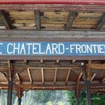 Schweizer-Eisenbahnen Bahnhof Le Châtelard-Frontière