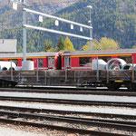 Schweizer-Eisenbahnen RhB Güterwagen Re-w - 8247