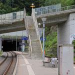 Schweizer-Eisenbahnen - Bahnhof Aathal