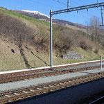 Schweizer-Eisenbahnen - Bahnhof Scuol-Tarasp