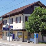 Schweizer-Eisenbahnen - Bahnhof Berlingen
