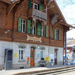 Schweizer-Eisenbahnen - Bahnhof Montbovon