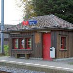 Schweizer-Eisenbahnen Bahnhof Hebrig
