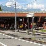 Schweizer-Eisenbahnen - Bahnhof Wilderswil