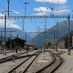 Schweizer-Eisenbahnen - Bahnhof Davos Platz