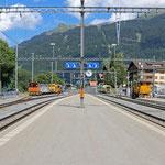 Schweizer-Eisenbahnen Bahnhof Klosters Platz