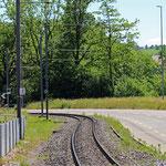 Schweizer-Eisenbahnen - Bahnhof Jakobstal