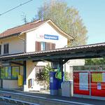 Schweizer-Eisenbahnen - Bahnhof Burghalden