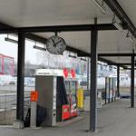 Schweizer-Eisenbahnen - Bahnhof Buchs-Dällikon